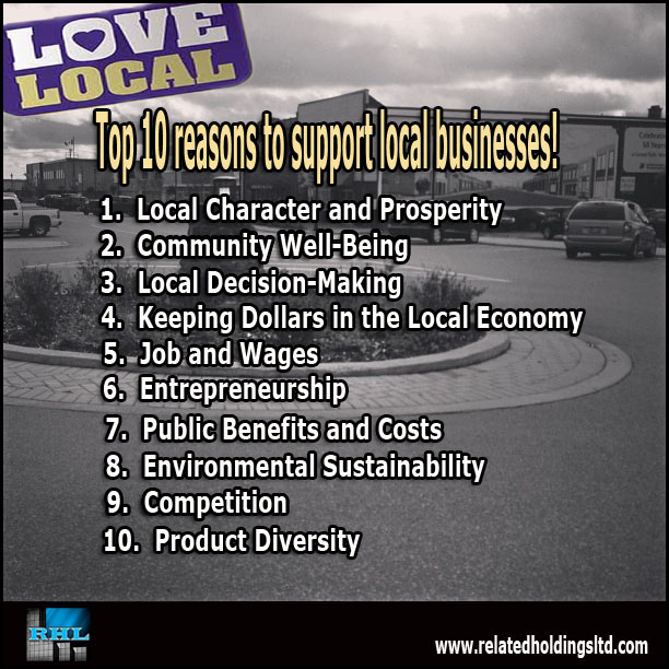RHL Support Local Top 10