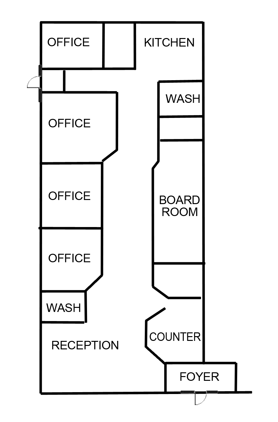 Floor Plan 10 Pinsent Drive Suite A copy