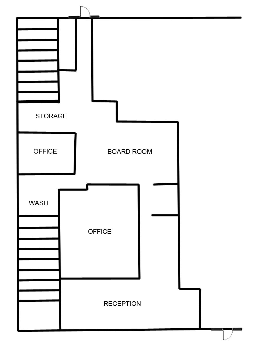 Floor Plan 9 High Street Suite A copy